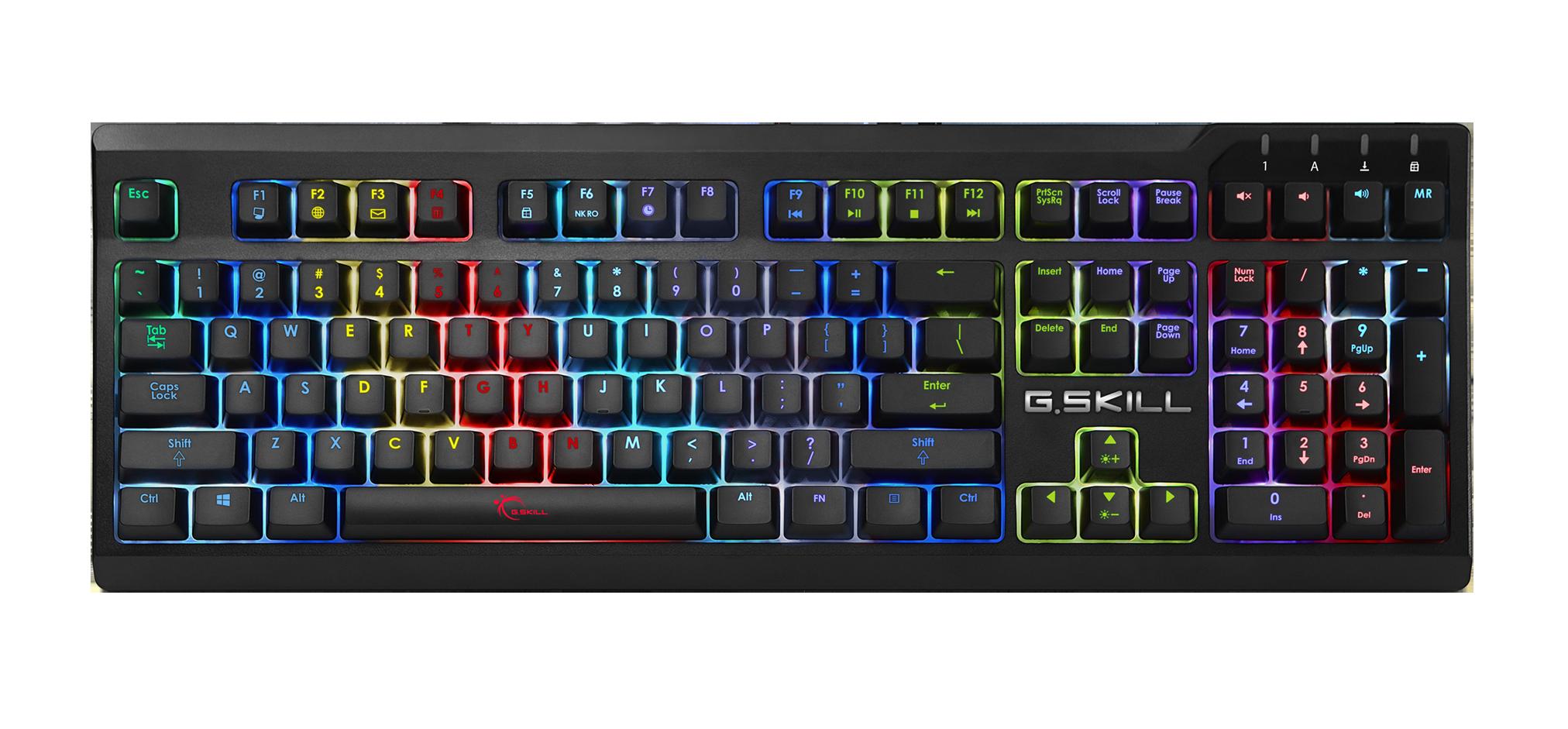 9122097f1b1 G.SKILL RIPJAWS KM570 RGB Mechanical Gaming Keyboard - Cherry MX RGB ...